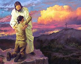 jesus with boy
