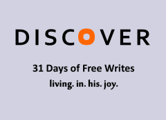 Day 20 of 31 days discover