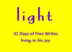 Day 22 of 31 days light